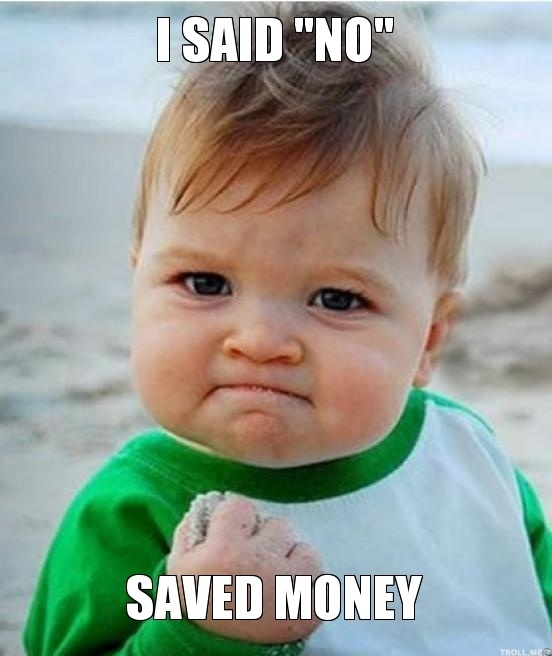 Save money